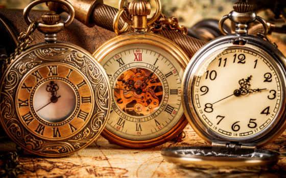 часы, карманные, старинные