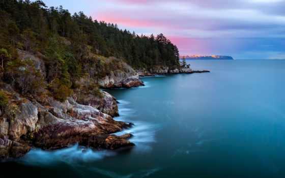 lighthouse, park, west, point, vancouver, канада, british, остров, bc, columbia,
