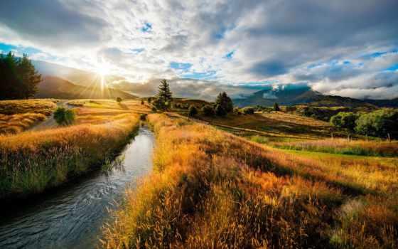 новая, zealand, зеландии, новой, country, пейзажей, пейзажи -, великолепные,