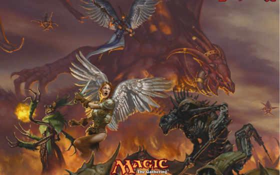 магия, invasion, gathering,