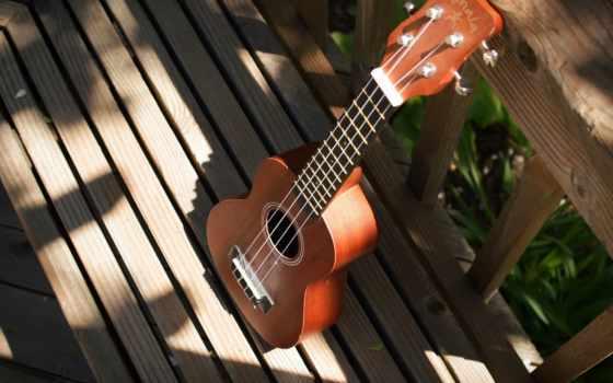 гитара, музыка, instrument, фон, музы, укулеле, красивые,