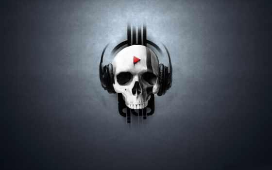 skull, music