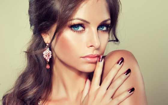 девушка, макияж, улыбка Фон № 101979 разрешение 2560x1600