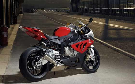 bmw, мотоцикл, спортбайк