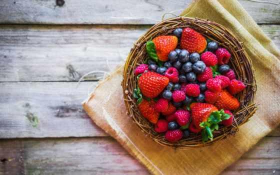 ягоды, клубника, малина, еда, черника, клубники, производить, прохождение, спелые, продукты, картинок,