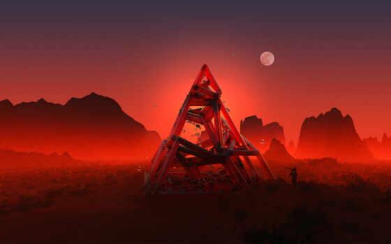 джастин, maller, астрономия, треугольник, луна, mobile, resolution, art, rock