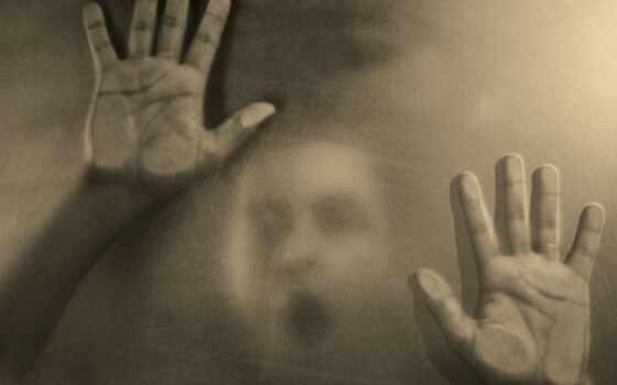 creepy, глаза, dark, рука, ужас, размытость, scream, настроение, scary