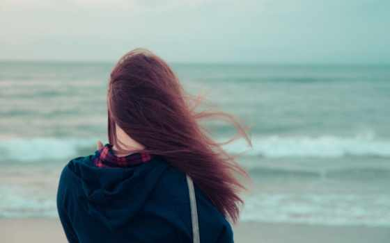 она, море и ветер
