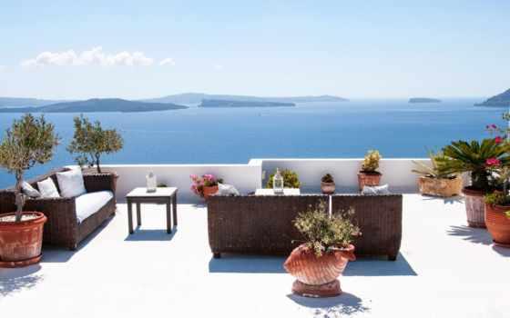 greek, море, santorini, за, недвижимости, природа, дома, картинка, диван, exchange, рубежом,