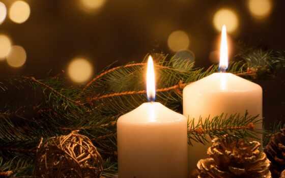 new, дар, праздник, christmas, мяч, toy, fir, cone