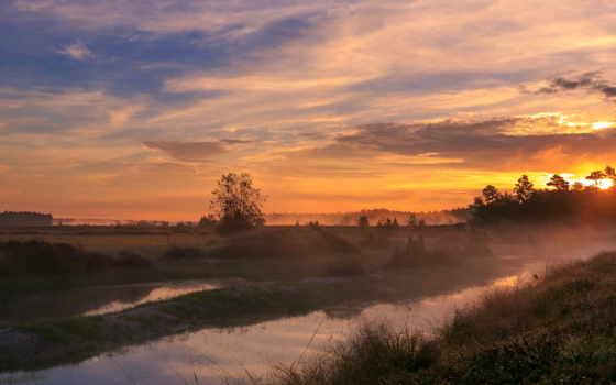 закат, небо, вечер Фон № 50985 разрешение 1920x1080