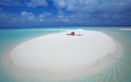 water, пляж, blue