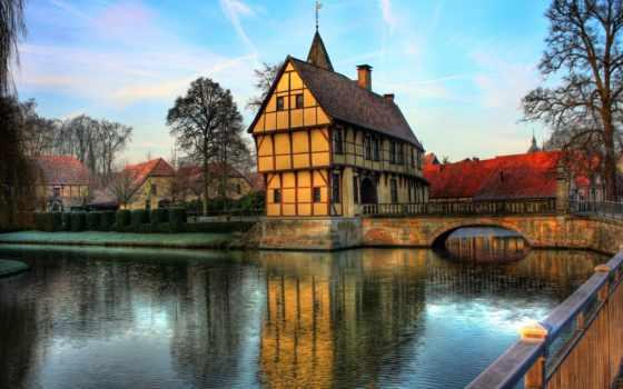 online, steinfurt, castle, города, house, flickr, германия, природы, изображение, schloss,