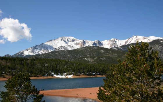 природа, горы, красивые