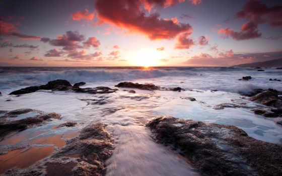 морские, природа, просторы