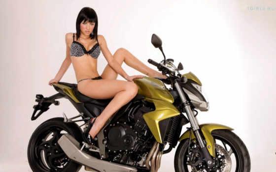 девушка, мотоцикл, мотоциклы Фон № 82300 разрешение 1920x1200