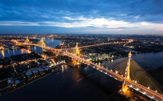 bangkok, мост, таиланд, bridges, free, изображение, photos, rivers, desktop,