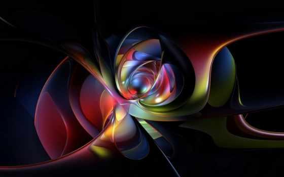 abstract, widescreen, high