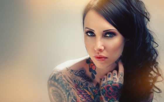 татуировка, тату, девушка, триус, тело, girls, tattoos, татуировки, цыпочка,