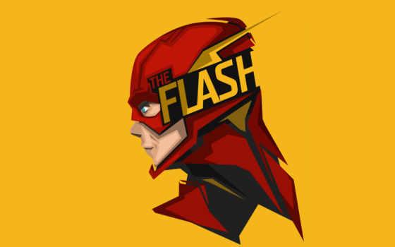 ,, флэш, супергерой, Лига справедливости, иллюстрация, герой, денщик,