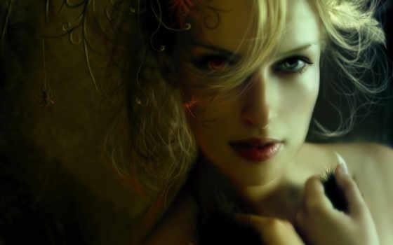девушка, загадочная, fantasy