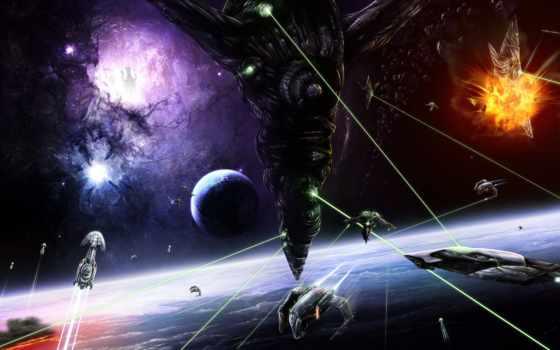 hole, cosmos, black, shirokoformatnyi, permission, красивый, universe, free