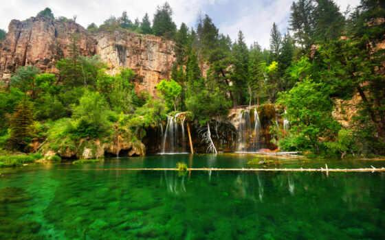 водопад, landscape, природа, natural, история, garden