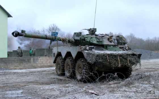 танк, колесный