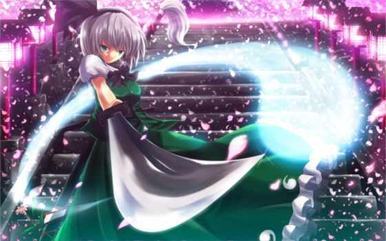 touhou, anime, views, today, konpaku, youmu, naruto, similar,