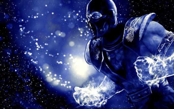 mortal combat blue