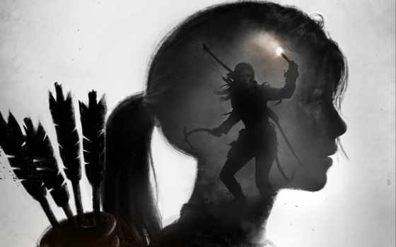 tomb, взлёт, raider, крофт, лара, плакат, croft,