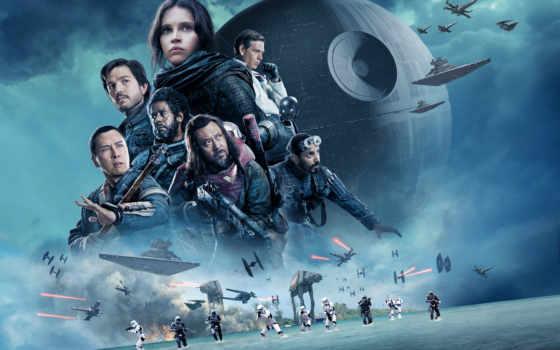 войны, one, изгой, истории, звездные, постеры, фильма,