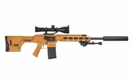 оружие, винтовка, снайперская, remington, rsass, сошки, глушитель