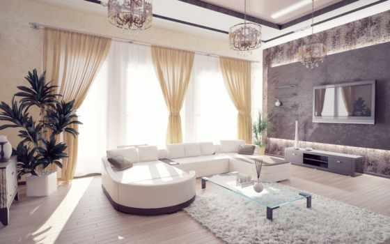 диван, интерьер, комната