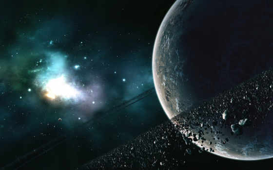 kosmos, астероиды, пояс