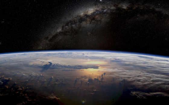 космос, путь, млечный
