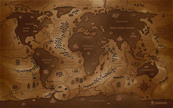 map, мира, карты, старинная, других, картами, космоса, миров, ваше, фотообои,