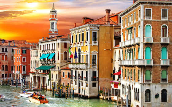 canal, venice, italy, italian, grand, venezia, канал, гранд, grande, город,