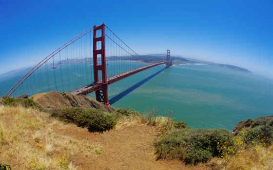 мост, gate, francisco, золотистый, sana, золотые, architecture, красивые,