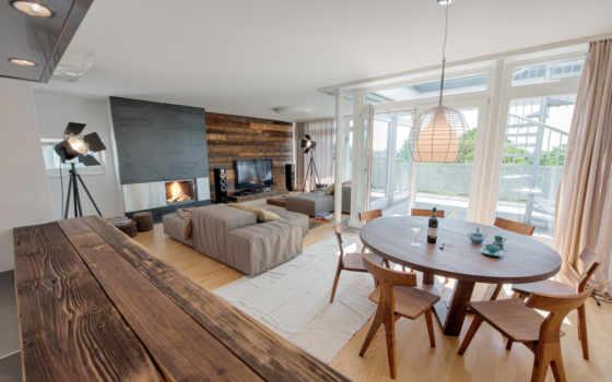 диваны, interer, стулья, классные, огонь, каминь,