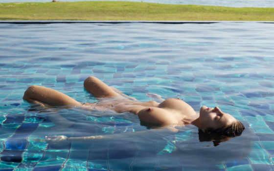 swimming,