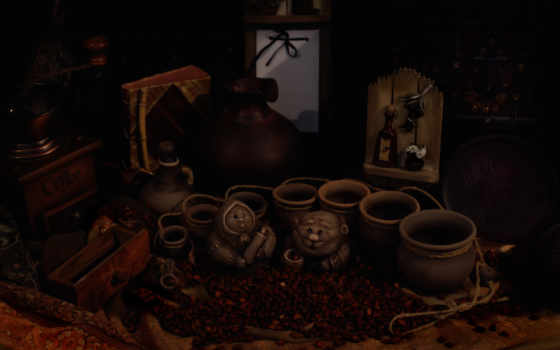 clay, pots, вазон, widescreen, desktop, free, картинка,