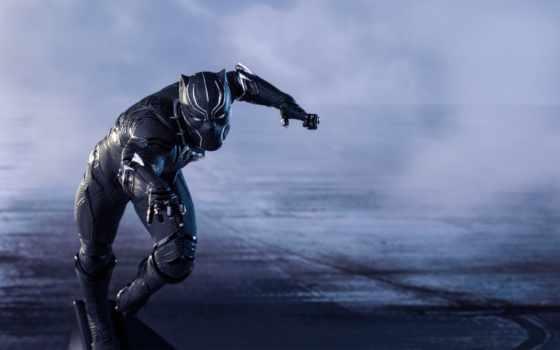 черная, panther, мстители, супергерой, black, war, гражданская, captain, america,