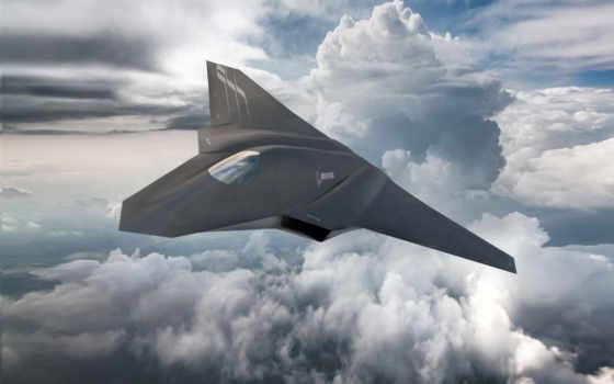 истребитель, реактивный, air, сила, boeing, concept, next, самолёт,