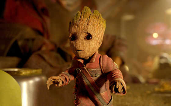 галактики, стражи, guardians, galaxy, сниматься, groot, baby, кинотеатр, кадров, новости, marvel,