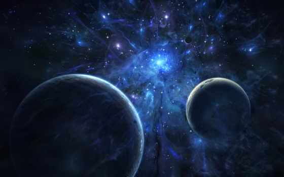 cosmos, планеты, звезды, свет,