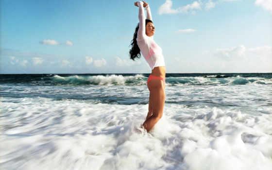 море, девушка, devushki