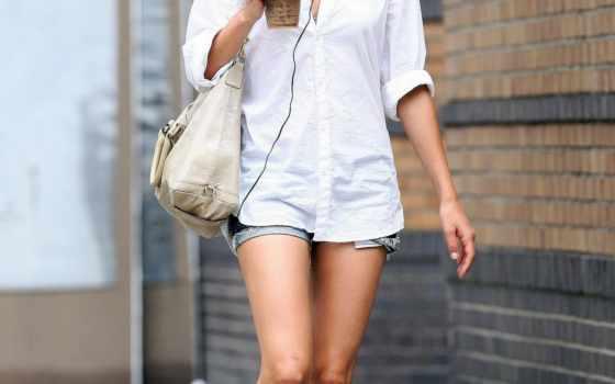 estilo, roupas, casual, мила, kunis, seu, para, não, mais, que,