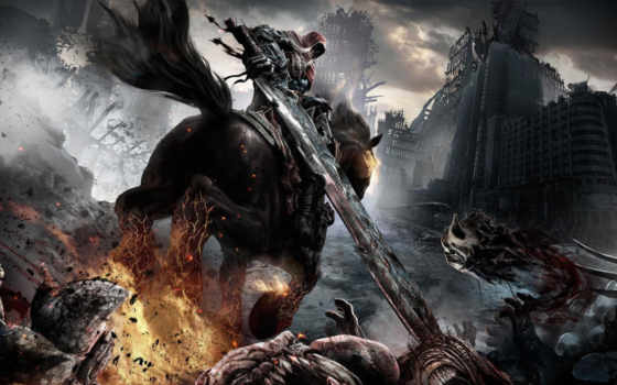 darksiders, war, wrath