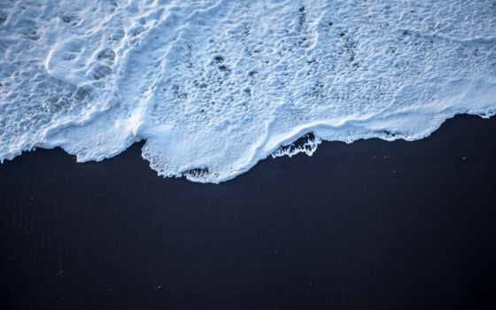 песок, black, пляж, iceland,